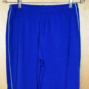 Nike Blue Women's Work Out Pants Sz S